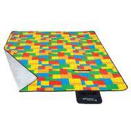 Koc piknikowy 210x180 cm Spokey Picnic Bricks (835241)