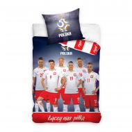 Komplet pościeli Carbotex PZPN polscy piłkarze 160x200cm