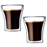 Komplet 2 szt. szklanek izolowanych 0,2 l Bodum Assam