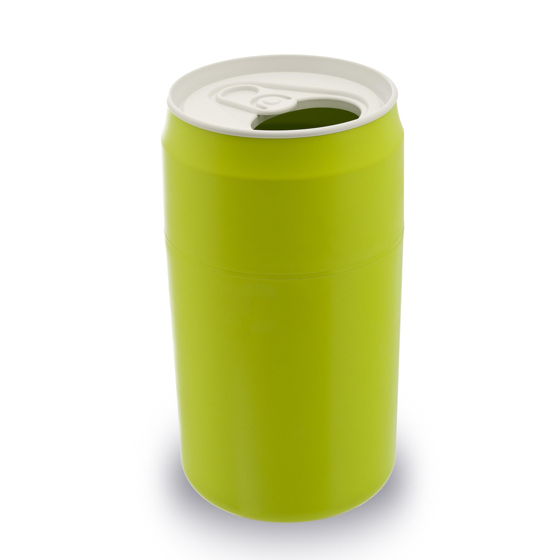 Kosz na śmieci puszka zielony 22L 10081-GN