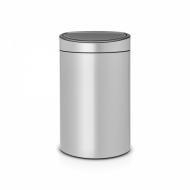 Kosz Touch Bin New 40 l metaliczny szary - Brabantia