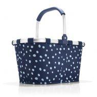 Koszyk carrybag Reisenthel Spots Navy niebieski