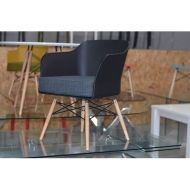 Krzesło Barone King Bath czarne