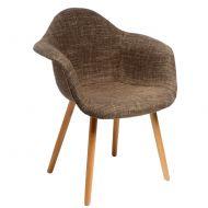 Krzesło D2 CosyArm tapicerowane ws053b