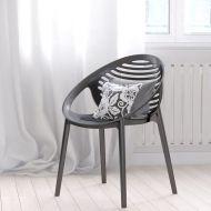 Krzesło King Bath Parilla szare