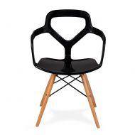 Krzesło 51,5x61x71,5cm King Home Nox DSW czarne