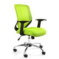 Krzesło obrotowe Unique Mobi zielone