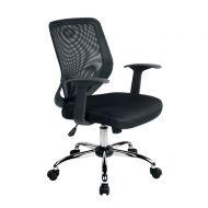 Krzesło obrotowe Unique Mobi czarne