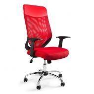 Krzesło obrotowe Unique Mobi Plus czerwony