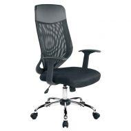 Krzesło obrotowe Unique Mobi Plus czarne