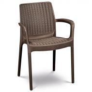 Krzesło ogrodowe 83x52cm Keter Bali Mono brąz