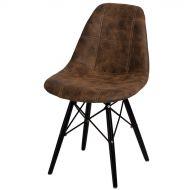 Krzesło 45x39x80cm D2 P016W Pico brązowe ciemne