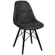Krzesło 45x39x80cm D2 P016W Pico grafitowe