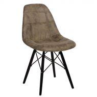 Krzesło 45x39x80cm D2 P016W Pico oliwkowe