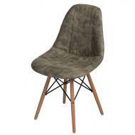 Krzesło 47x79x56cm D2 P016W Pico oliwkowe