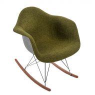 Krzesło 63x45x70cm D2 P018 RAR Duo zielono-szare