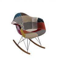 Krzesło 64x45x70cm D2 P018 RAR Patchwork wielokolorowe