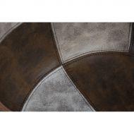 Krzesło P018W patchwork beżowo brązowy