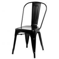 Krzesło D2 Paris czarne