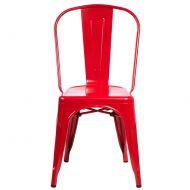 Krzesło D2 Paris czerwone
