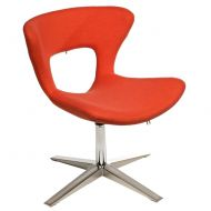 Krzesło D2 Soft pomarańczowe