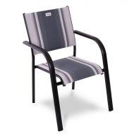 Krzesło ogrodowe sztaplowane 67x88cm Albergo Acamp szare