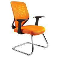 Krzesło Unique Mobi Skid pomarańczowe