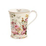 Kubek porcelanowy 0,27L Nuova R2S Blooming Opulence biały