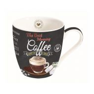 Kubek porcelanowy do kawy 0,35L Nuova R2S czarny