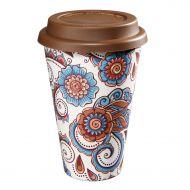 Kubek na kawę 14,5 cm Zassenhaus Eco Line kwiaty