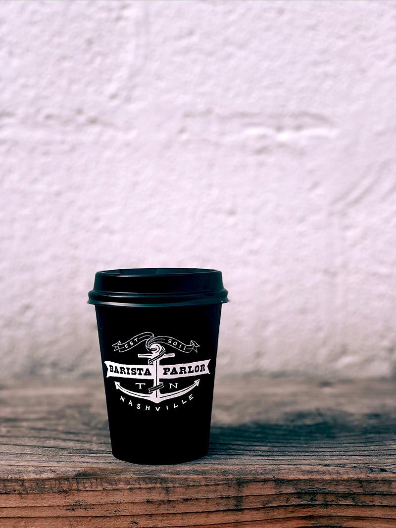 Kubek ekologiczny na kawę na wynos