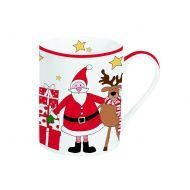 Kubek świąteczny 300ml Nuova R2S Christmas Collection mikołaj