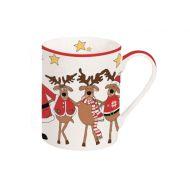 Kubek świąteczny 300ml Nuova R2S Christmas Collection renifery