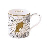 Porcelanowy kubek Wodnik 350ml Nuova R2S Zodiac