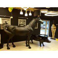 Lampa HORSE koń czarny