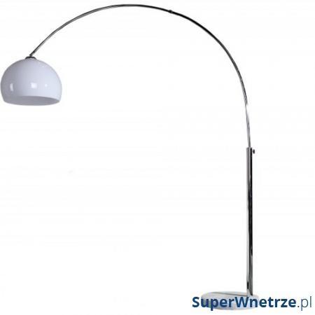 Lampa podłogowa Bow II biała regulowana DK-23415