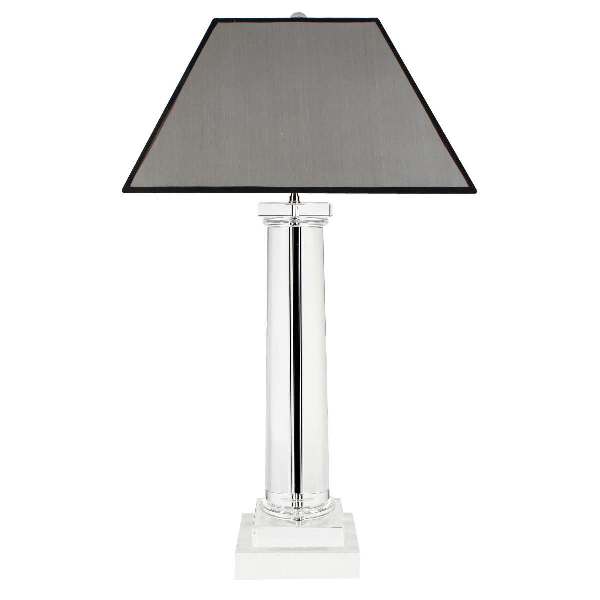 Lampa stołowa Kensington Crystal