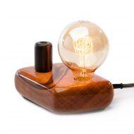 Lampa stołowa ręcznie robiona Kerid Custom Woods