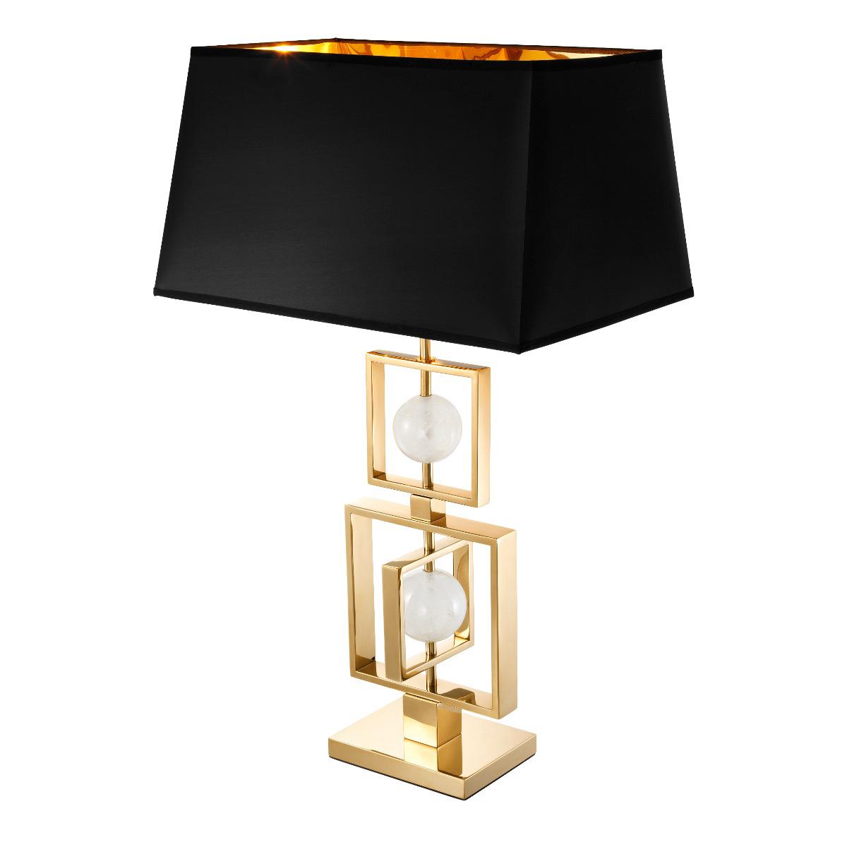 Lampa stołowa z abażurem Avola 125x66x52 cm