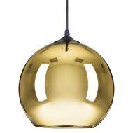 Lampa wisząca 25cm Step into design Mirror Glow złota