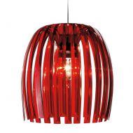 Lampa wisząca 44 cm Koziol Josephine Royal czerwona