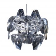 Lampa wisząca 56cm Step into design Transparent przezroczysta