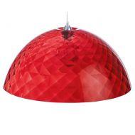 Lampa wisząca 66,9 cm Koziol Stella XL czerwona
