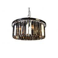 Lampa wisząca Illumination 60x60x45 cm Miloo Home Alumbrado szary