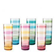 Zestaw sześciu szklanek Leonardo Rainbow
