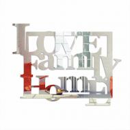 Lustro dekoracyjne LOVE FAMILY HOME DekoSign plexi