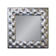 Lustro wiszące 98x98cm D2 Deco srebrne