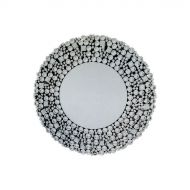Lustro wiszące Klara 90x90 kryształ