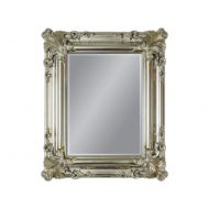 Lustro wiszące 50x60cm D2 Sophia srebrne