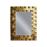 Lustro wiszące 129x99cm D2 Sylvio złote